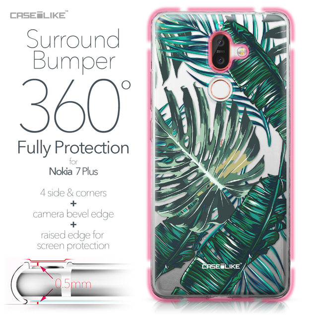 Nokia 7 Plus case Tropical Palm Tree 2238 Bumper Case Protection | CASEiLIKE.com