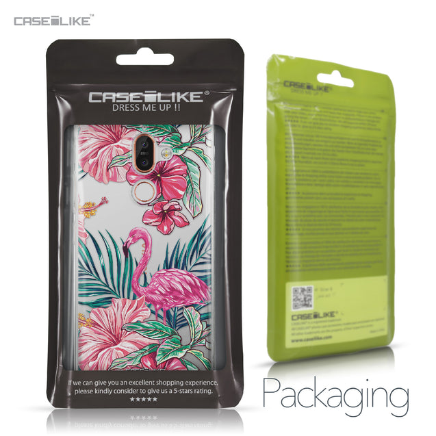 Nokia 7 Plus case Tropical Flamingo 2239 Retail Packaging | CASEiLIKE.com