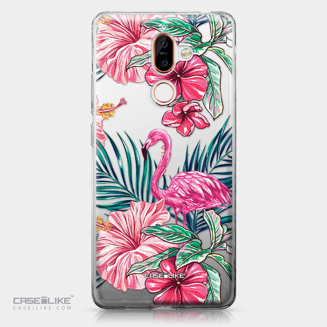 Nokia 7 Plus case Tropical Flamingo 2239 | CASEiLIKE.com