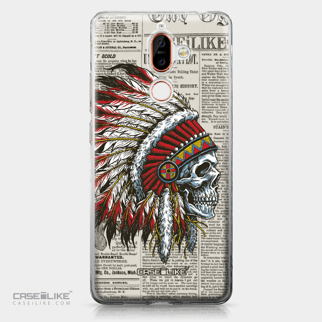 Nokia 7 Plus case Art of Skull 2522 | CASEiLIKE.com