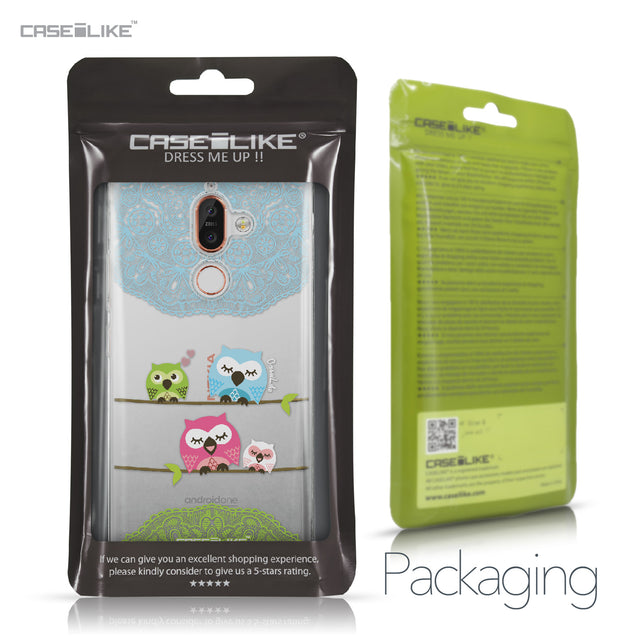 Nokia 7 Plus case Owl Graphic Design 3318 Retail Packaging | CASEiLIKE.com