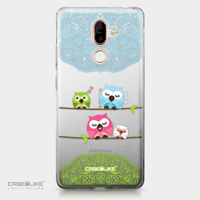 Nokia 7 Plus case Owl Graphic Design 3318 | CASEiLIKE.com