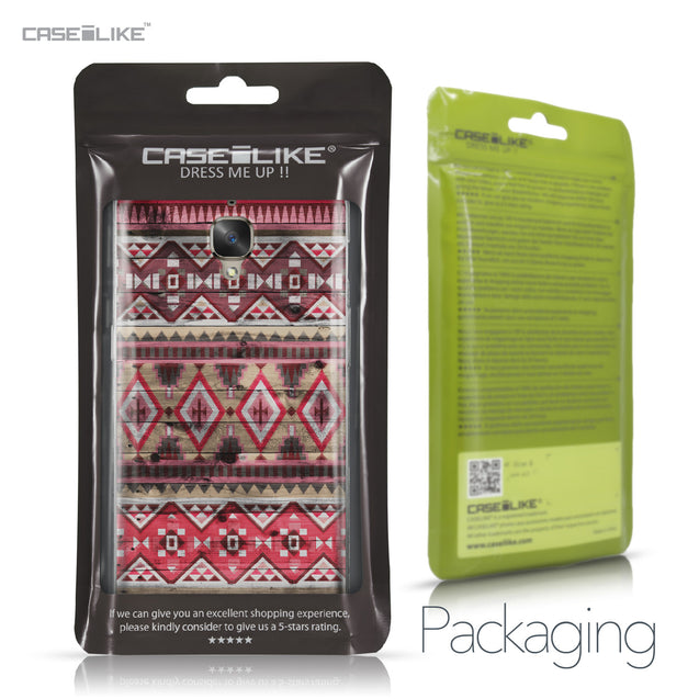 OnePlus 3/3T case Indian Tribal Theme Pattern 2057 Retail Packaging | CASEiLIKE.com