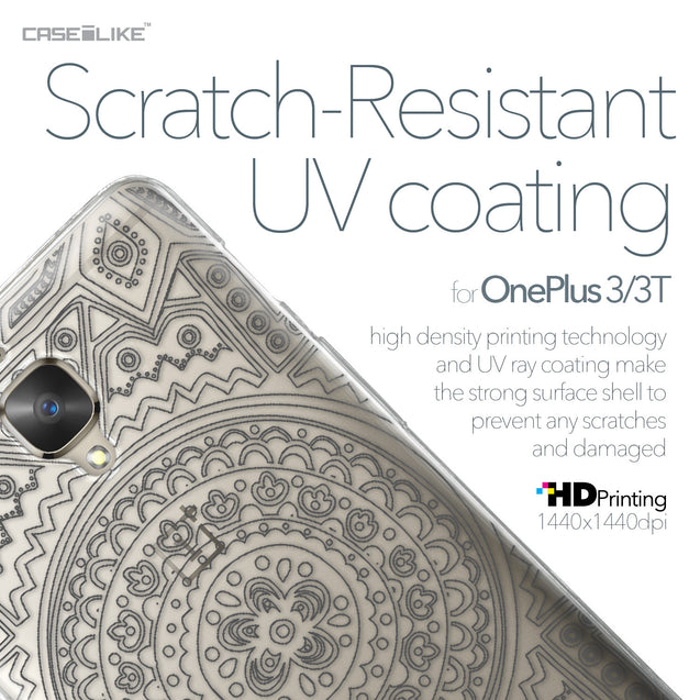 OnePlus 3/3T case Indian Line Art 2063 with UV-Coating Scratch-Resistant Case | CASEiLIKE.com