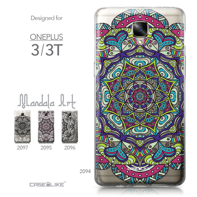 OnePlus 3/3T case Mandala Art 2094 Collection | CASEiLIKE.com
