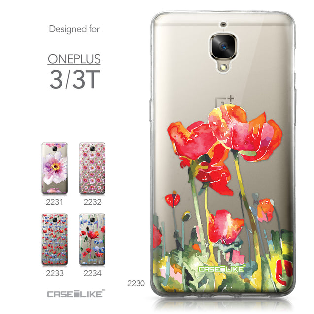 OnePlus 3/3T case Watercolor Floral 2230 Collection | CASEiLIKE.com