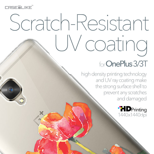 OnePlus 3/3T case Watercolor Floral 2230 with UV-Coating Scratch-Resistant Case | CASEiLIKE.com