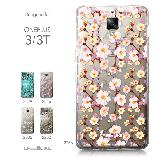 OnePlus 3/3T case Watercolor Floral 2236 Collection | CASEiLIKE.com