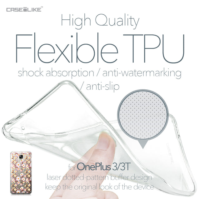 OnePlus 3/3T case Watercolor Floral 2236 Soft Gel Silicone Case | CASEiLIKE.com