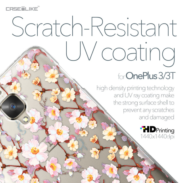OnePlus 3/3T case Watercolor Floral 2236 with UV-Coating Scratch-Resistant Case | CASEiLIKE.com