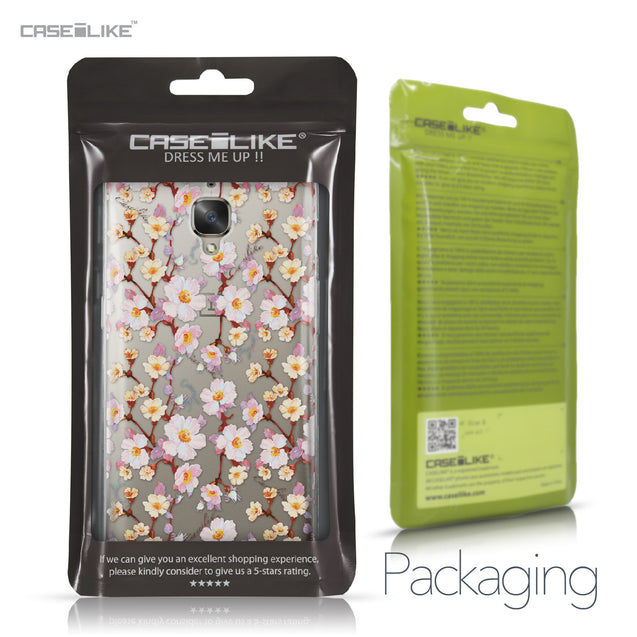 OnePlus 3/3T case Watercolor Floral 2236 Retail Packaging | CASEiLIKE.com