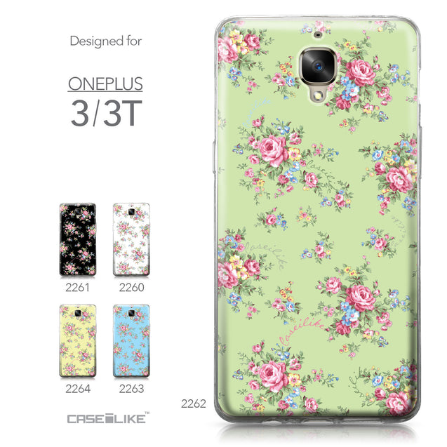 OnePlus 3/3T case Floral Rose Classic 2262 Collection | CASEiLIKE.com