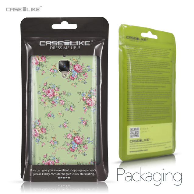 OnePlus 3/3T case Floral Rose Classic 2262 Retail Packaging | CASEiLIKE.com