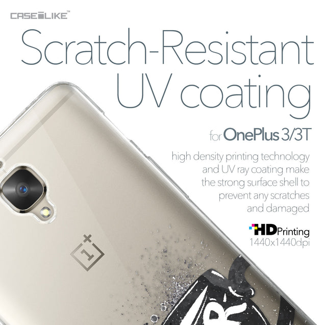OnePlus 3/3T case Quote 2402 with UV-Coating Scratch-Resistant Case | CASEiLIKE.com