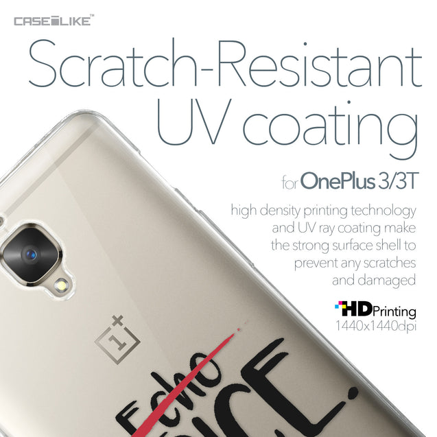 OnePlus 3/3T case Quote 2405 with UV-Coating Scratch-Resistant Case | CASEiLIKE.com