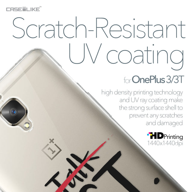 OnePlus 3/3T case Quote 2408 with UV-Coating Scratch-Resistant Case | CASEiLIKE.com