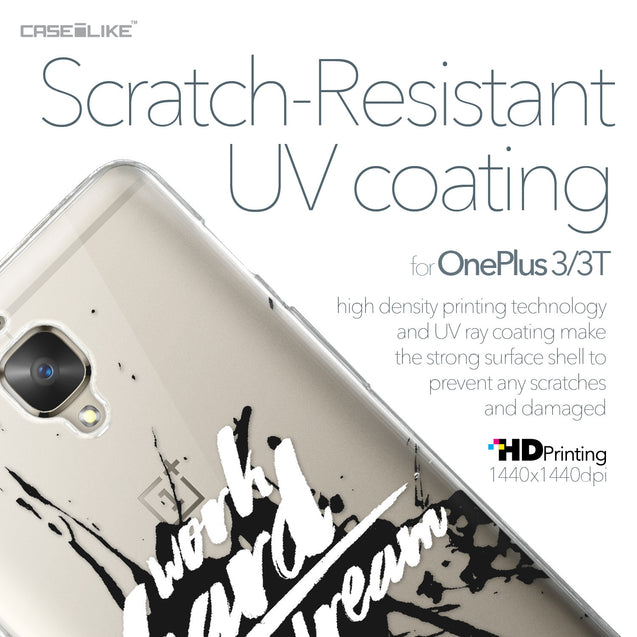 OnePlus 3/3T case Quote 2414 with UV-Coating Scratch-Resistant Case | CASEiLIKE.com