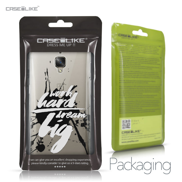 OnePlus 3/3T case Quote 2414 Retail Packaging | CASEiLIKE.com