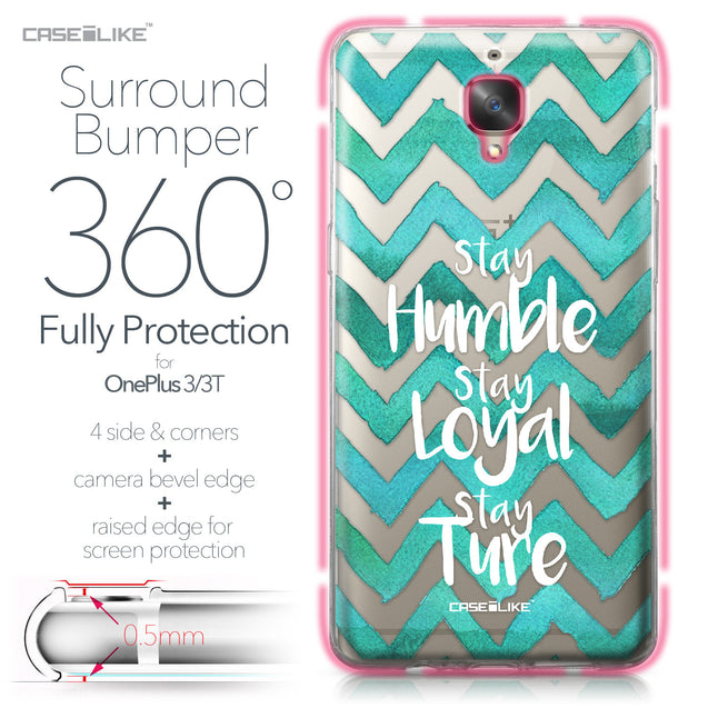 OnePlus 3/3T case Quote 2418 Bumper Case Protection | CASEiLIKE.com