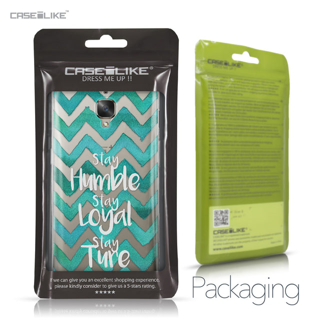 OnePlus 3/3T case Quote 2418 Retail Packaging | CASEiLIKE.com