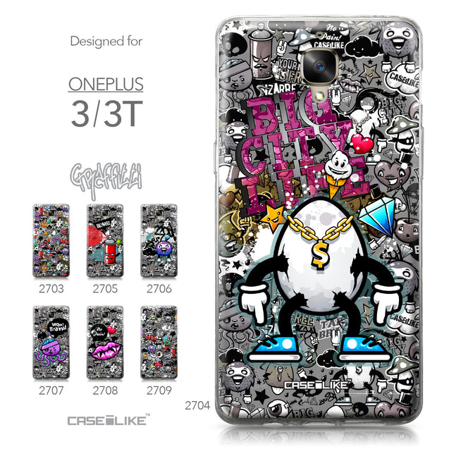 OnePlus 3/3T case Graffiti 2704 Collection | CASEiLIKE.com