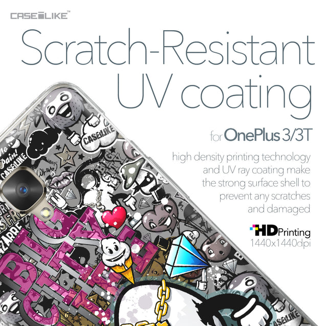 OnePlus 3/3T case Graffiti 2704 with UV-Coating Scratch-Resistant Case | CASEiLIKE.com
