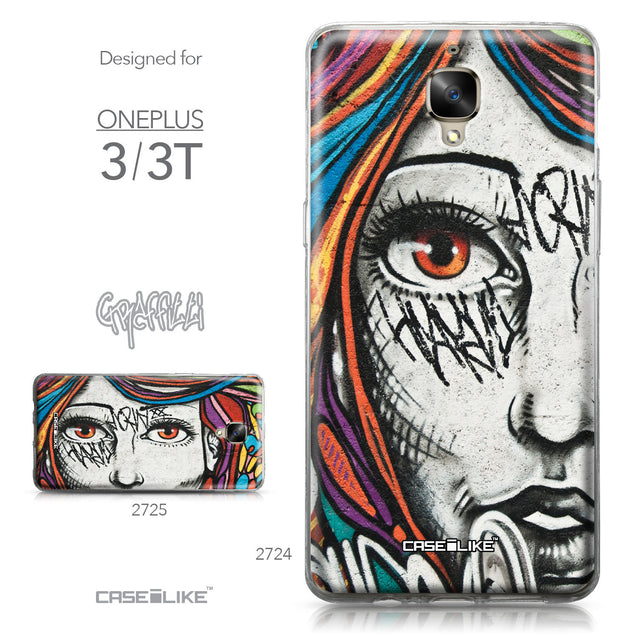 OnePlus 3/3T case Graffiti Girl 2724 Collection | CASEiLIKE.com