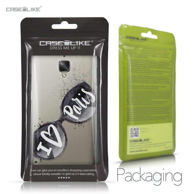 OnePlus 3/3T case Paris Holiday 3911 Retail Packaging | CASEiLIKE.com