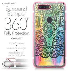 OnePlus 5T case Indian Line Art 2064 Bumper Case Protection | CASEiLIKE.com
