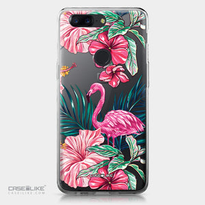 OnePlus 5T case Tropical Flamingo 2239 | CASEiLIKE.com