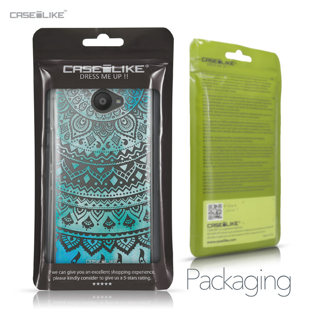 BQ Aquaris U / U Lite case Indian Line Art 2066 Retail Packaging | CASEiLIKE.com