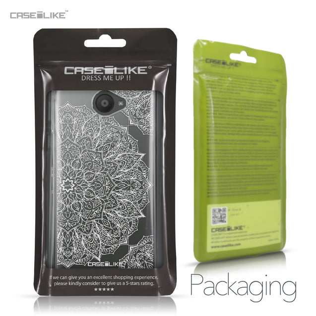 BQ Aquaris U / U Lite case Mandala Art 2091 Retail Packaging | CASEiLIKE.com