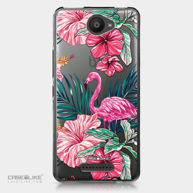 BQ Aquaris U / U Lite case Tropical Flamingo 2239 | CASEiLIKE.com