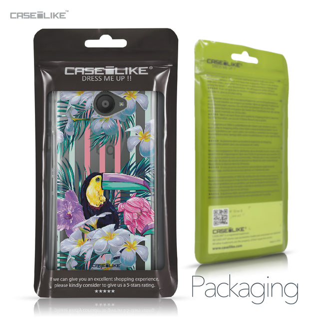 BQ Aquaris U / U Lite case Tropical Floral 2240 Retail Packaging | CASEiLIKE.com