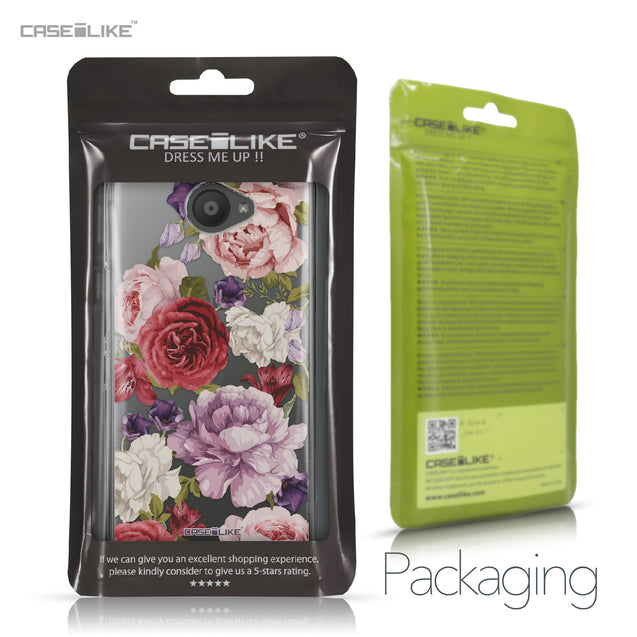 BQ Aquaris U / U Lite case Mixed Roses 2259 Retail Packaging | CASEiLIKE.com