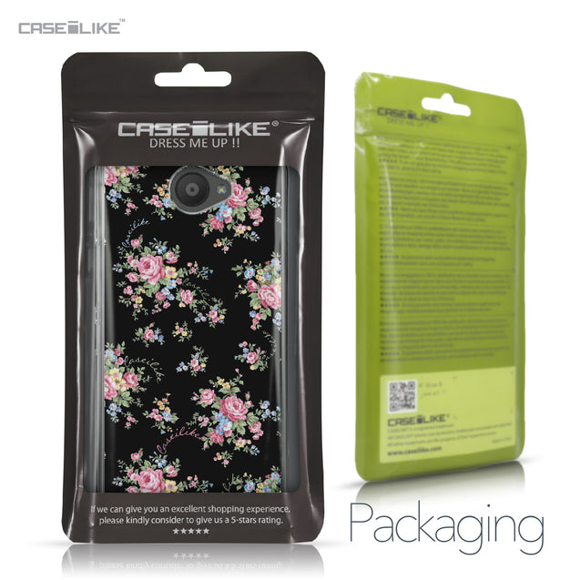BQ Aquaris U / U Lite case Floral Rose Classic 2261 Retail Packaging | CASEiLIKE.com