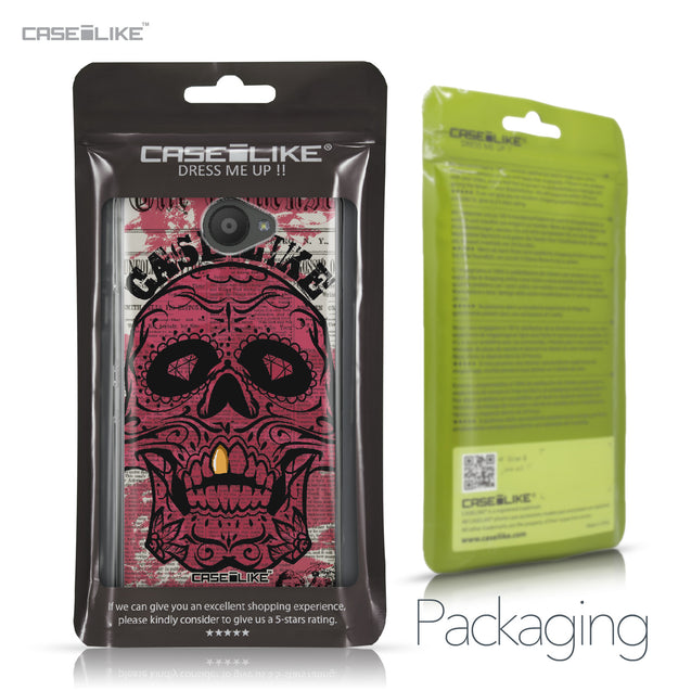 BQ Aquaris U / U Lite case Art of Skull 2523 Retail Packaging | CASEiLIKE.com