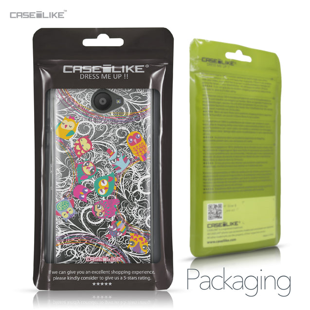BQ Aquaris U / U Lite case Owl Graphic Design 3316 Retail Packaging | CASEiLIKE.com
