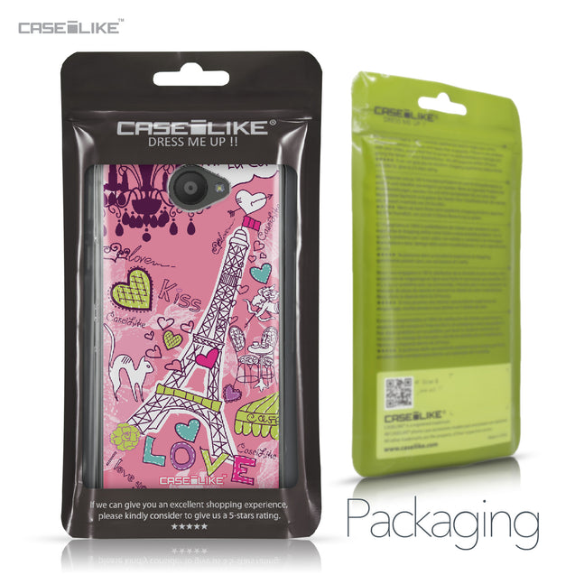 BQ Aquaris U / U Lite case Paris Holiday 3905 Retail Packaging | CASEiLIKE.com