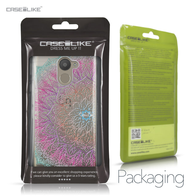 BQ Aquaris U Plus case Mandala Art 2090 Retail Packaging | CASEiLIKE.com