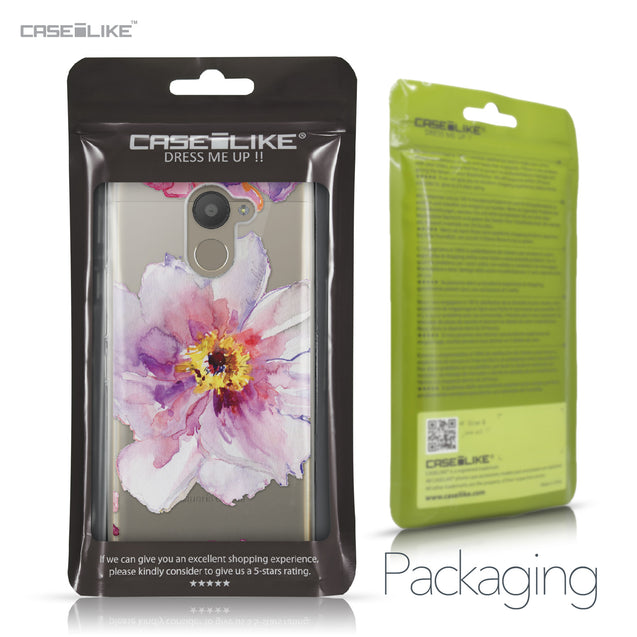 BQ Aquaris U Plus case Watercolor Floral 2231 Retail Packaging | CASEiLIKE.com