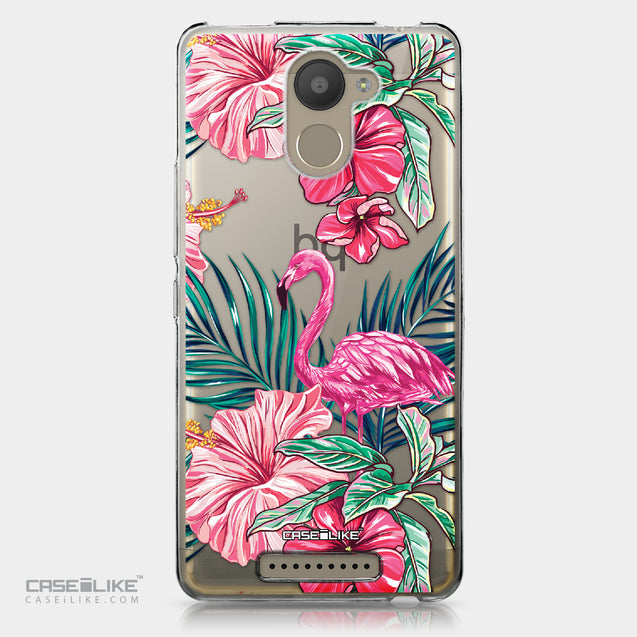 BQ Aquaris U Plus case Tropical Flamingo 2239 | CASEiLIKE.com