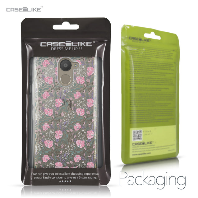 BQ Aquaris U Plus case Flowers Herbs 2246 Retail Packaging | CASEiLIKE.com