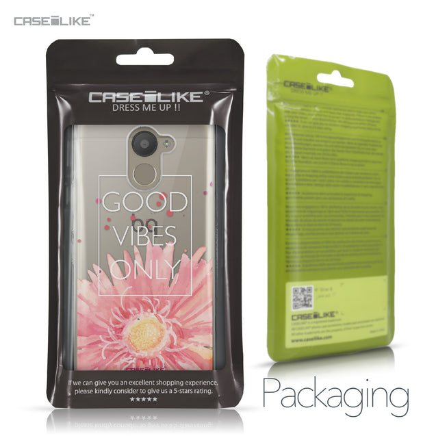 BQ Aquaris U Plus case Gerbera 2258 Retail Packaging | CASEiLIKE.com