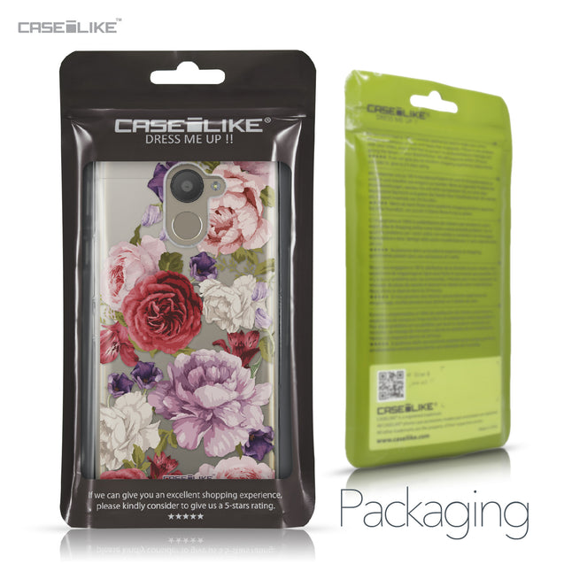 BQ Aquaris U Plus case Mixed Roses 2259 Retail Packaging | CASEiLIKE.com