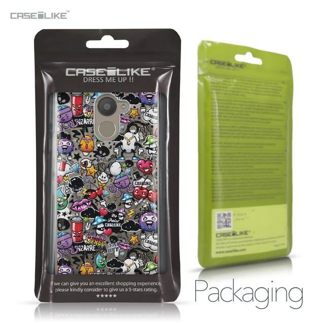 BQ Aquaris U Plus case Graffiti 2703 Retail Packaging | CASEiLIKE.com