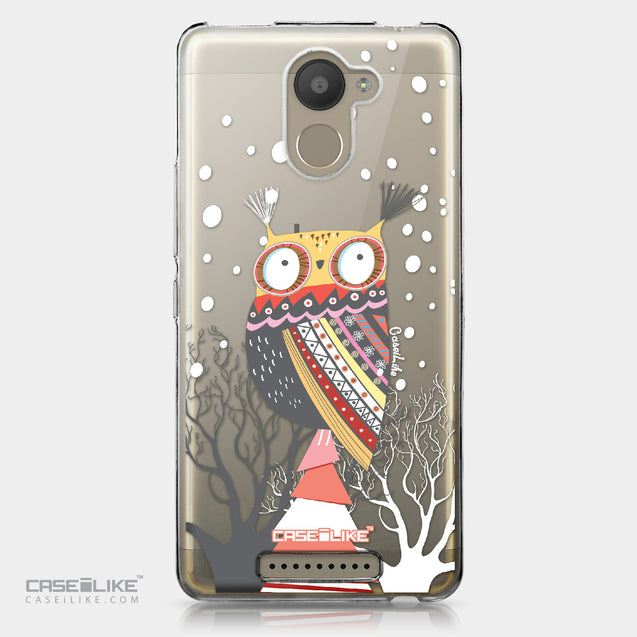BQ Aquaris U Plus case Owl Graphic Design 3317 | CASEiLIKE.com