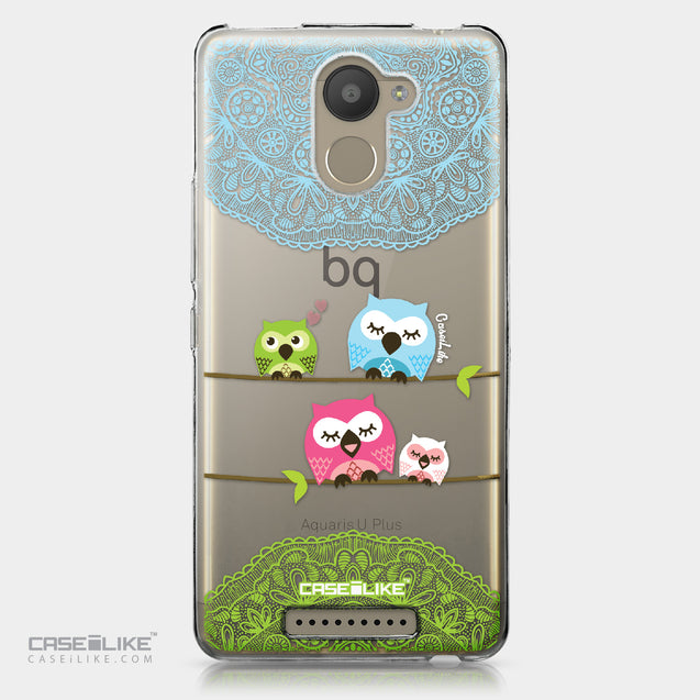 BQ Aquaris U Plus case Owl Graphic Design 3318 | CASEiLIKE.com