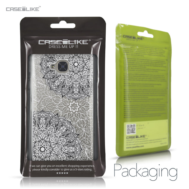 BQ Aquaris U2 / U2 Lite case Mandala Art 2093 Retail Packaging | CASEiLIKE.com