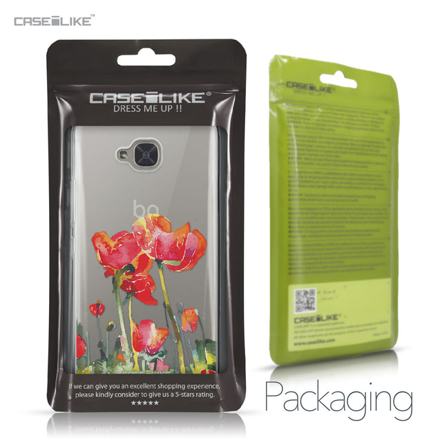 BQ Aquaris U2 / U2 Lite case Watercolor Floral 2230 Retail Packaging | CASEiLIKE.com